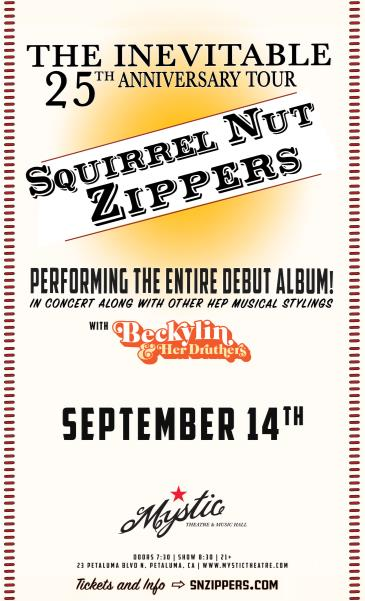 Squirrel Nut Zippers w/ Beckylin & Her Druthers (POSTPONED): Main Image