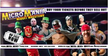 Micro Mania Midget Wrestling (POSTPONED): Main Image