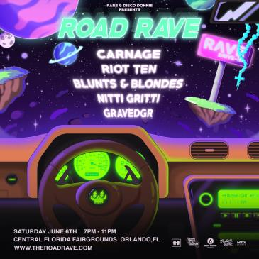RARE ROAD RAVE FT. CARNAGE - ORLANDO: Main Image