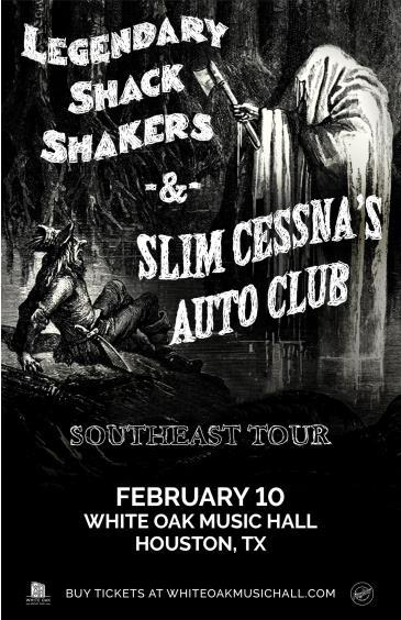 Legendary Shack Shakers and Slim Cessna's Auto Club: Main Image