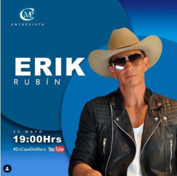 LIVE - ERIK RUBIN: Main Image