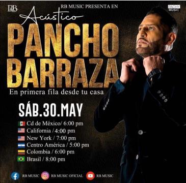 LIVE - PANCHO BARRAZA: Main Image