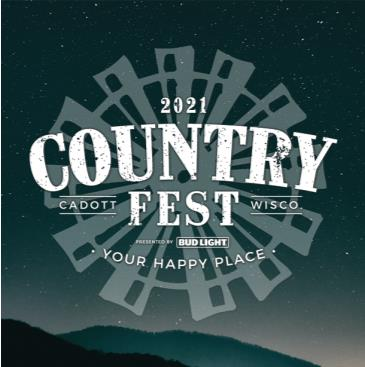 Country Fest 2021 - TICKETS AVAILABLE AT BOX OFFICE ONLY: