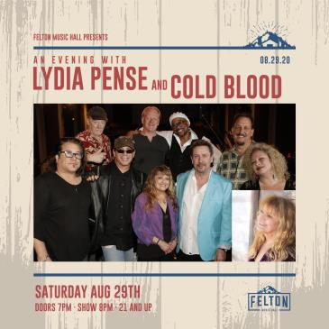 An Evening With: Lydia Pense & Cold Blood: Main Image