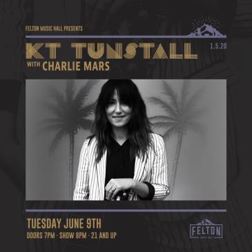 KT Tunstall with Charlie Mars (POSTPONED): Main Image