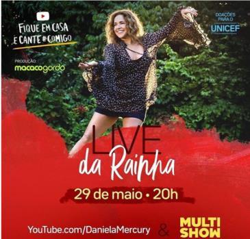 LIVE - DANIELA MERCURY: Main Image