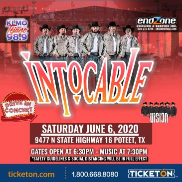 INTOCABLE - DRIVE IN CONCERT