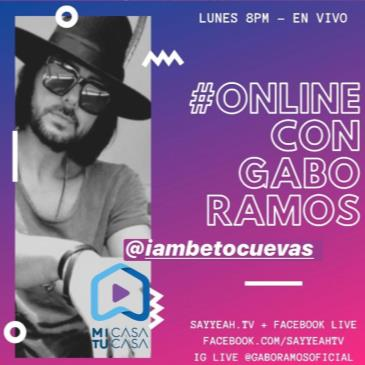 LIVE - BETO CUEVAS