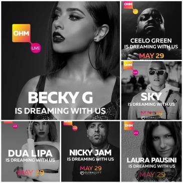 LIVE - BECKY G Y MAS