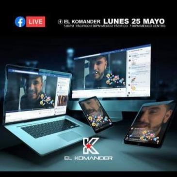LIVE - EL KOMANDER