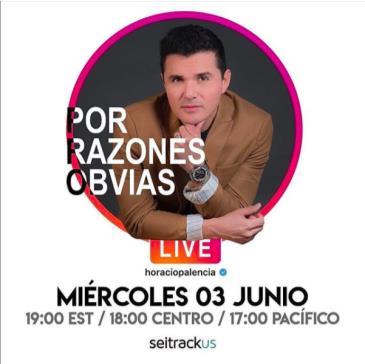 LIVE - HORACIO PALENCIA: Main Image