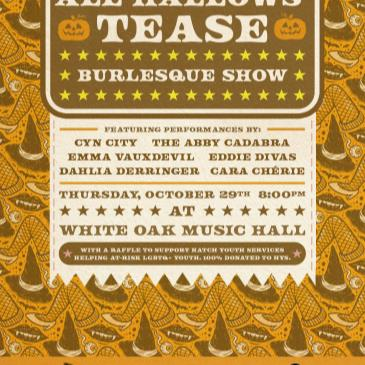 All Hallows' Tease Burlesque: Cyn City, Cara Chèrie & more-img
