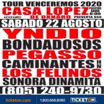 TOUR VENCEREMOS 2020
