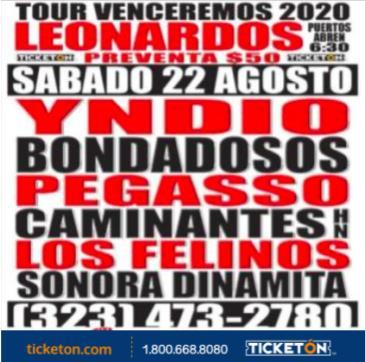 CANCELED TOUR VENCEREMOS 2020: Main Image
