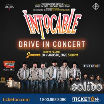CANCELADO/INTOCABLE & SOLIDO DRIVE IN CONCERT: Main Image