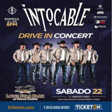 INTOCABLE DRIVE IN CONCERT