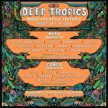 Deep Tropics Festival 2020: Main Image