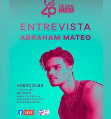 LIVE - ABRAHAM MATEO: Main Image