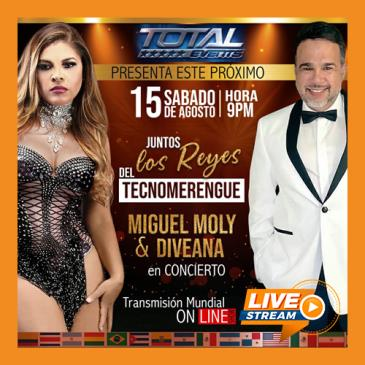 LOS REYES DEL TECNOMERENGUE LIVE!