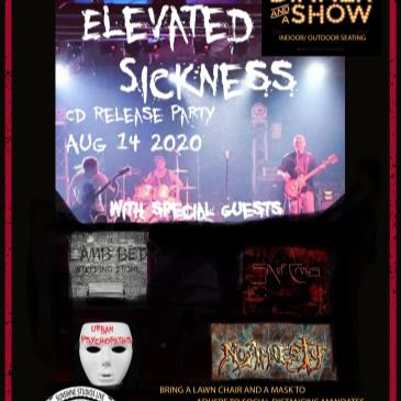 Elevated Sickness CD Release Dinner Show-img