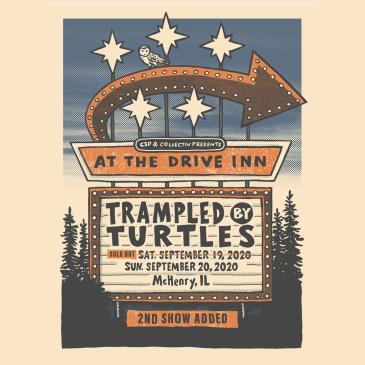 Sept 19 - Live at the Drive Inn / Trampled By Turtles: Main Image