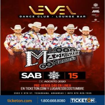 LA MAQUINARIA NORTENA , LEVEL
