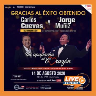 RETRANSMISION CON CARLOS CUEVAS Y JORGE MUNIZ