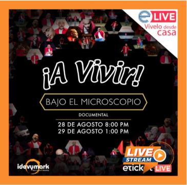¡A VIVIR! BAJO EL MICROSCOPIO DE ODIN DUPEYRON Sat, August 2: Main Image