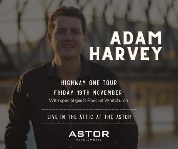 Adam Harvey: Highway One Tour: