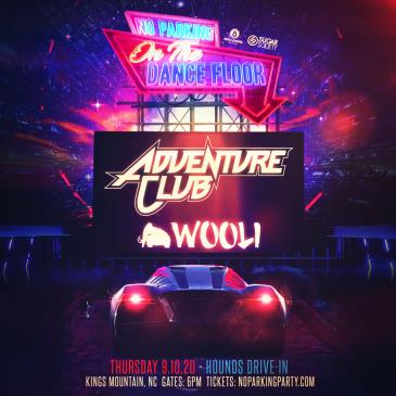 NPOTDF FT. ADVENTURE CLUB + WOOLI - North Carolina: Main Image
