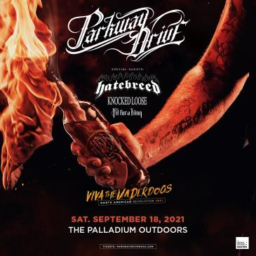 PARKWAY DRIVE: VIVA THE UNDERDOGS NORTH AMERICAN REVOLUTION: Main Image