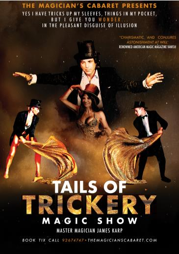 TAILS OF TRICKERY DINNER AND MAGIC SHOW: Main Image