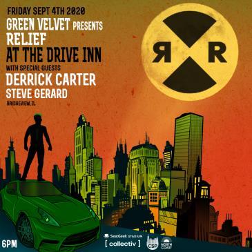 Sept 4  Live at the Drive Inn ft Green Velvet: