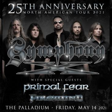 SYMPHONY X: 25TH ANNIVERSARY TOUR: Main Image