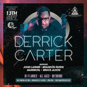 The Patron Saint Presents Derrick Carter @ HI-FI Annex: Main Image