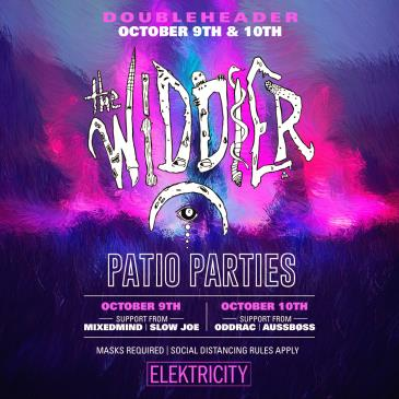 THE WIDDLER (NIGHT 1): PATIO PARTY (CANCELLED): Main Image