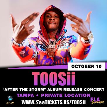Toosii - Tampa, FL - Performing Live - Album Release Party-img