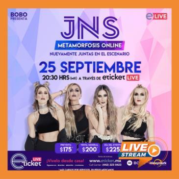 JNS METAMORFOSIS TOUR SHOW ONLINE