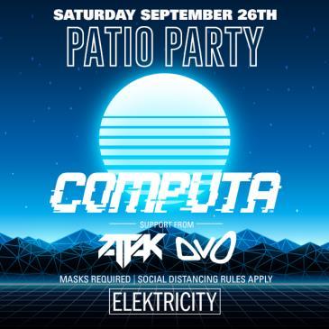 COMPUTA + ATTAK: PATIO PARTY: Main Image