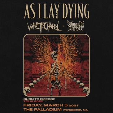 CANCELLED - AS I LAY DYING TO EMERGE TOUR: Main Image