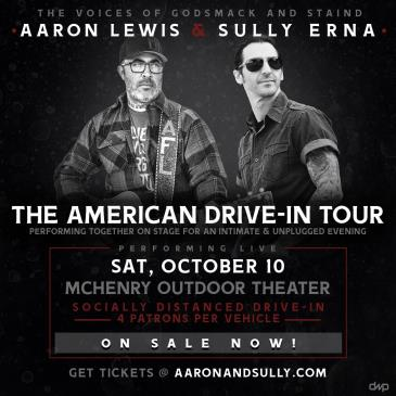 Aaron & Sully; The American Drive-In Tour: Main Image