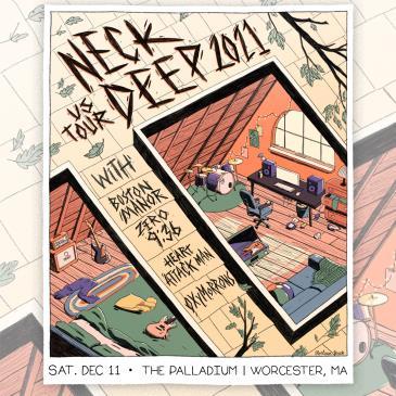 Neck Deep Tour 2021: