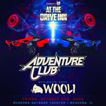 Oct 2 - Live at the Drive Inn - Adventure Club: Main Image