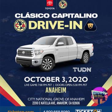 AMERICA VS PUMAS DRIVE-IN VIEWING EVENT - LOS ANGELES