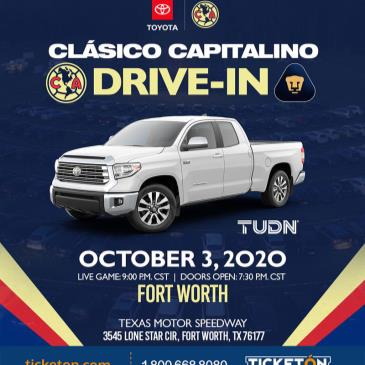 AMERICA VS PUMAS DRIVE-IN VIEWING EVENT - DALLAS