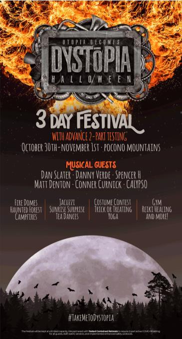 Dystopia Halloween Festival: Main Image