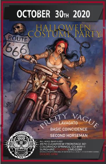 Pretty Vague's Halloween Show: Main Image