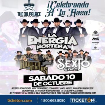 LA ENERGIA NORTENA ,TYLER TX