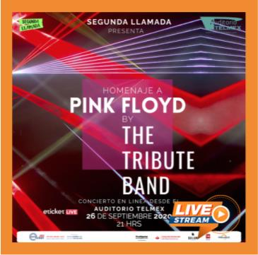 HOMENAJE A PINK FLOYD BY THE TRIBUTE BAND: Main Image