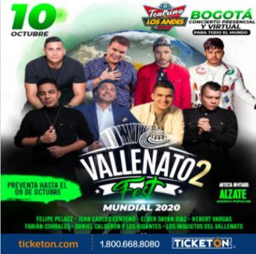 VALLENATO 2 FEST MUNDIAL 2020: Main Image